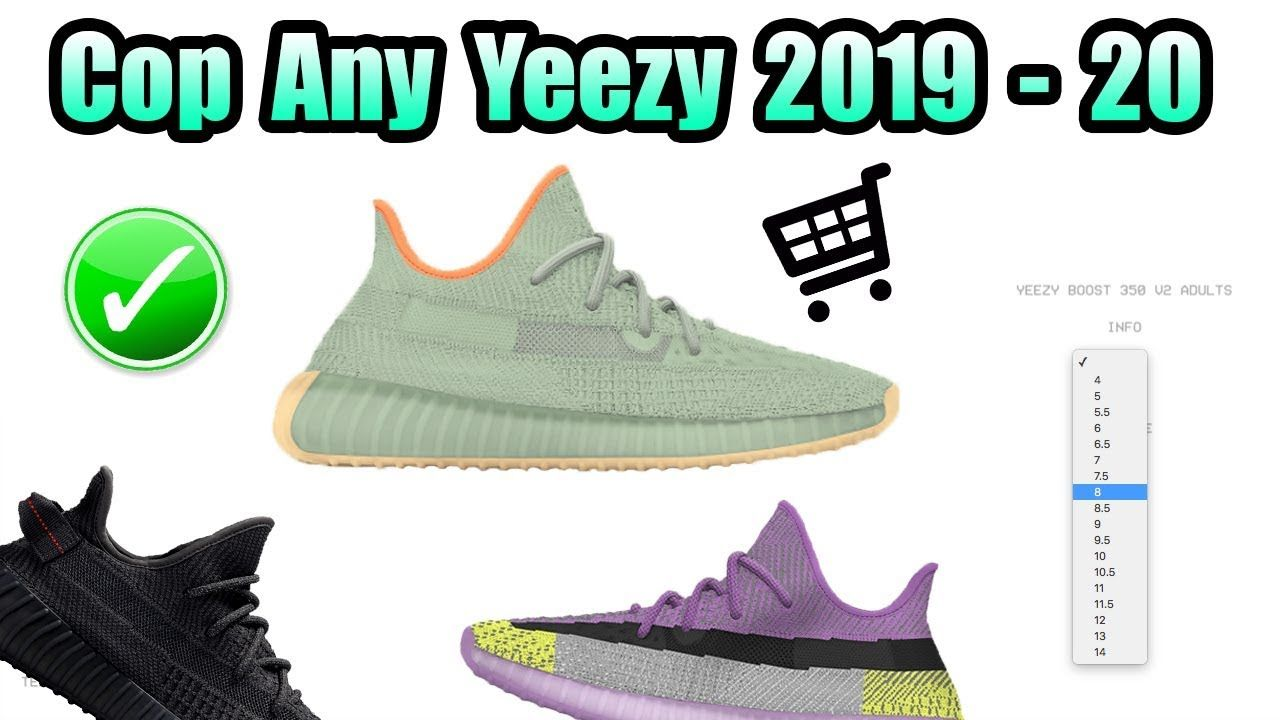 How To Cop Any Yeezy On Yeezy Supply +