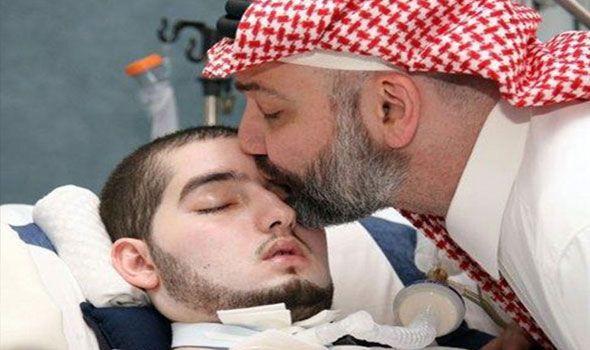 عملية جراحية معقدة في رأس نجل الأمير كشف الأمير خالد بن طلال أن الفريق الطبي المعالج لنجله الوليد قرر إخضاعه Saudi Arabia Prince Prince Life Support Machine