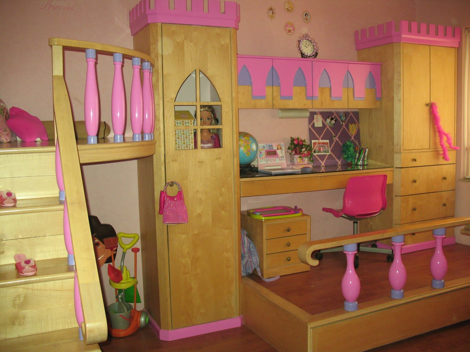 Best Doll House Loft Bunk Bed The Bed Slides From Under The 400 x 300