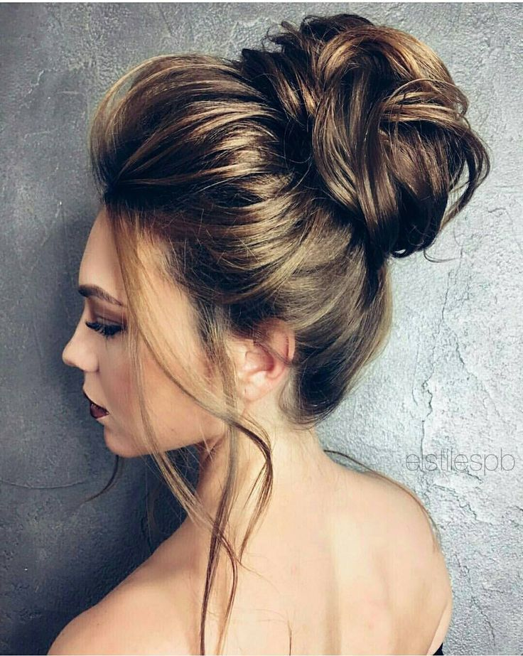 Hello Beautiful Wedding Bridal Updo A Bun With Loose Pieces Framing The Face Hair Styles Braided Hairstyles For Wedding Elegant Hairstyles