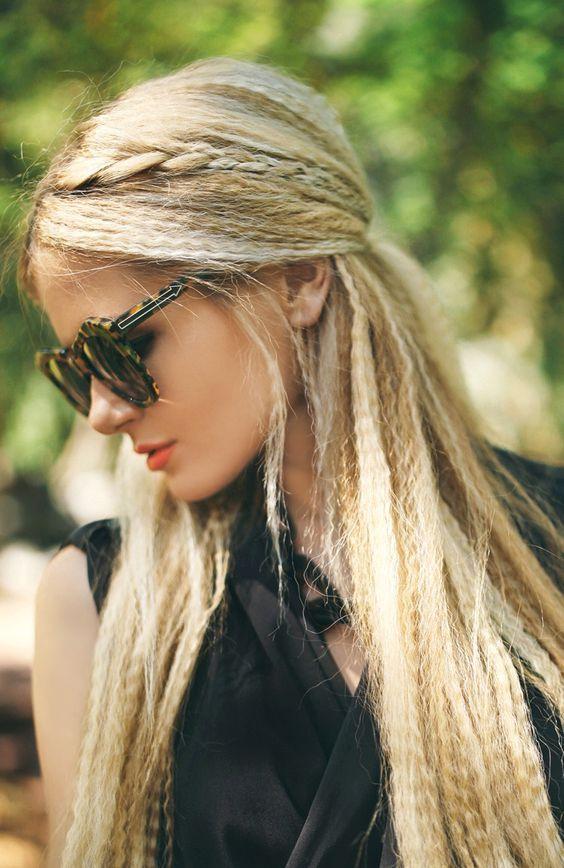 Hair Trend Alert Crimped Hairstyles Hair Styles Long Hair Styles Braids For Long Hair