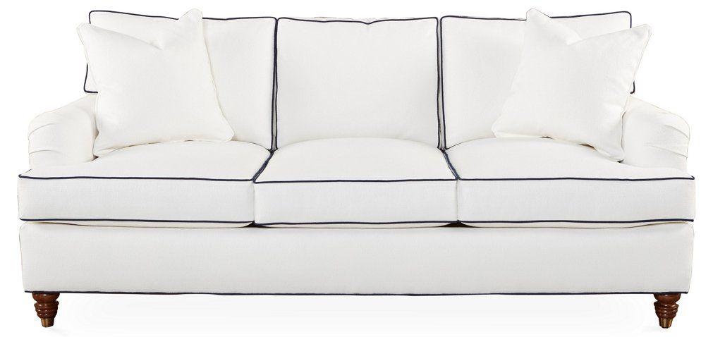 Fabulous Kate Sleeper Sofa White Crypton Miles Talbott In 2019 Andrewgaddart Wooden Chair Designs For Living Room Andrewgaddartcom