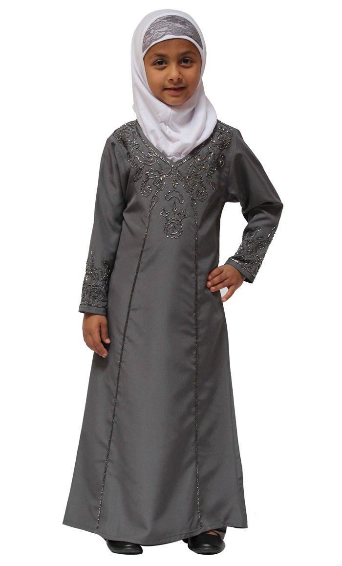 Rabiya Girls Abaya Shes Got That Look In 2018 Pinterest Kids Dress Anak Perempuan Motif Cat