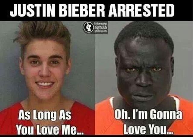 5eb72f1557ebb65e80b08d235ae667d1 justin bieber gets arrested for dui and his mugshot is promptly