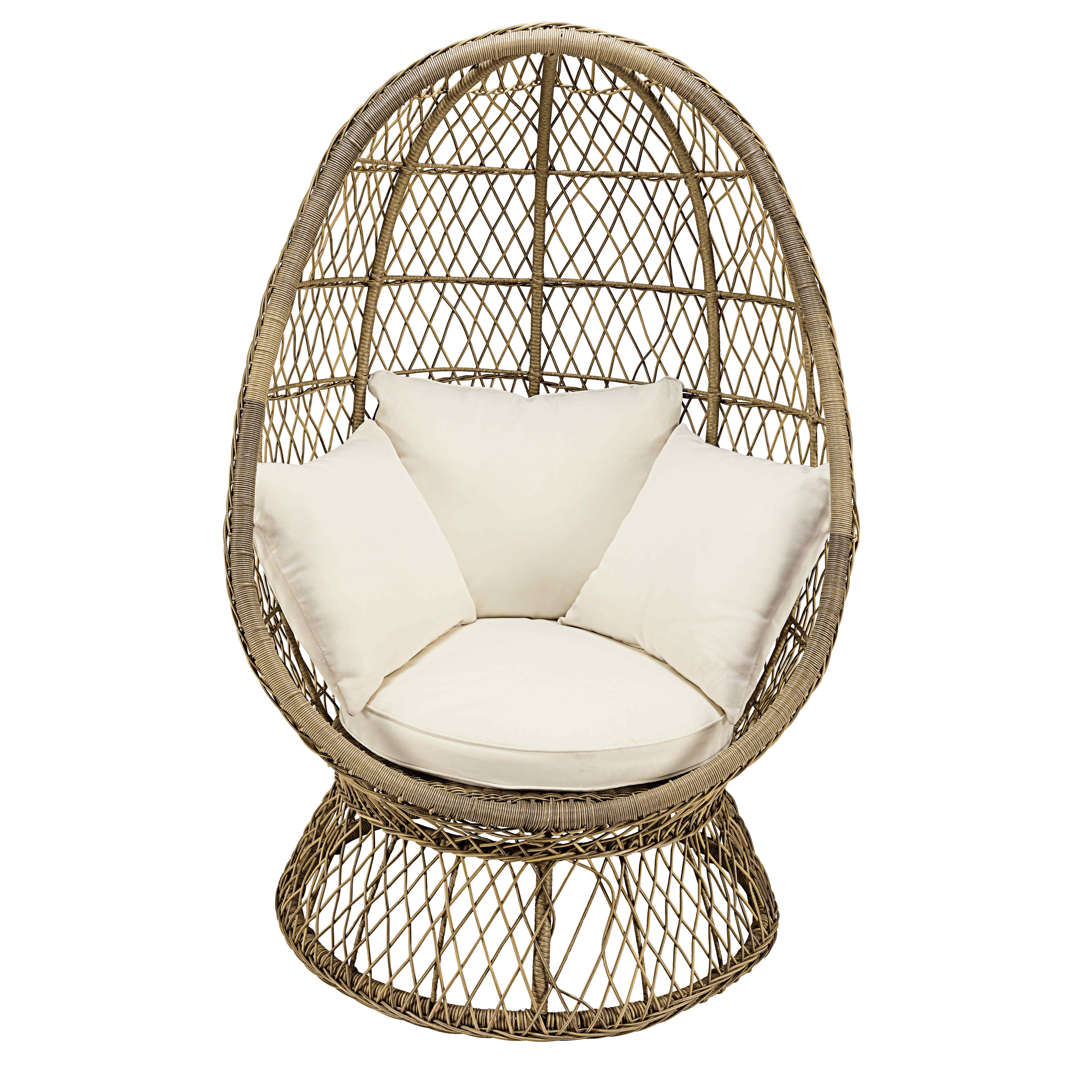 Tuinstoel Hangend Ei.Loungen Tropenwonen Chair Egg Chair En Cushions