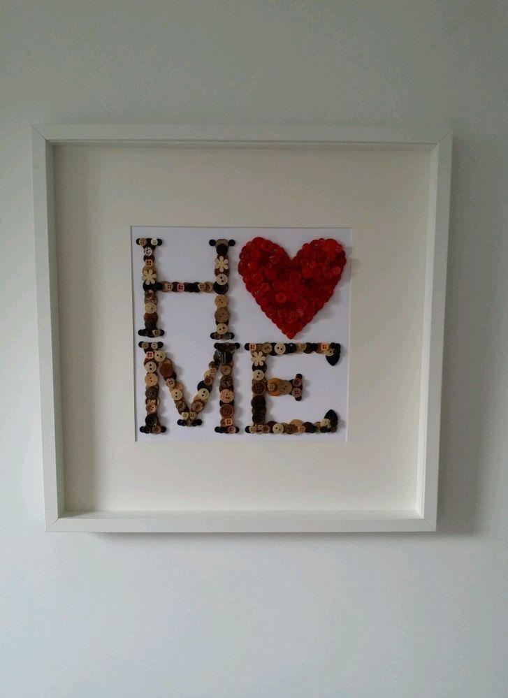 Image result for button art | Crafts | Pinterest | Button art, Craft ...