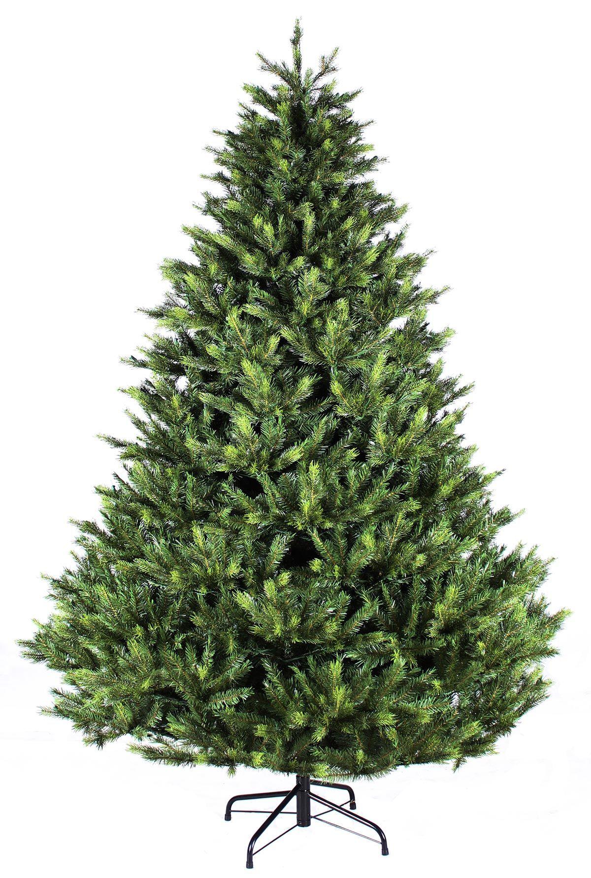 8ft Grand Fir Feel-Real Artificial Christmas Tree ...