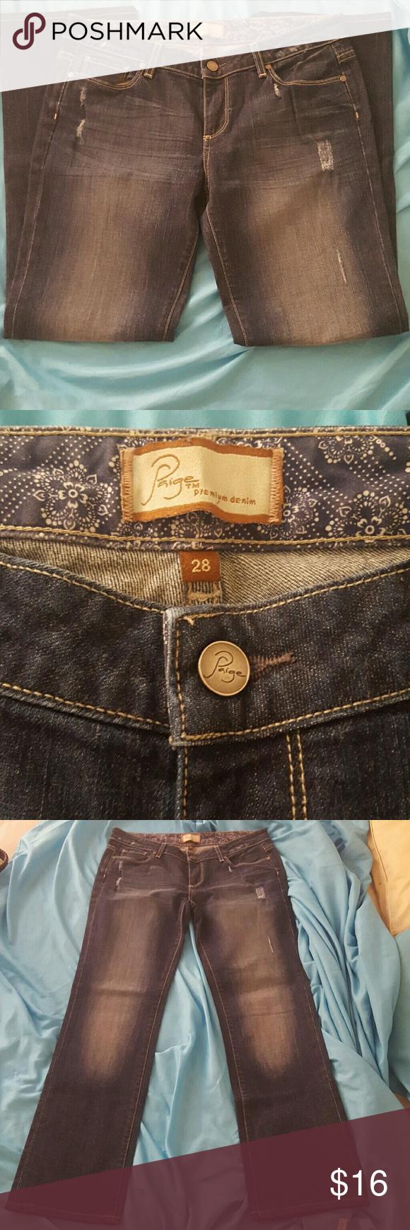 Paige  jimmy  jimmy Paige premium jimmy jimmy  size 28 Paige Jeans Pants Boot Cut & Flare