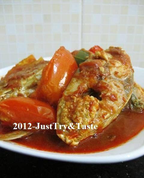 Asam Pedas Ikan Kuwe Slurrrpp Hingga Tetes Kuah Terakhir Resep Makanan India Resep Ikan Resep Makanan