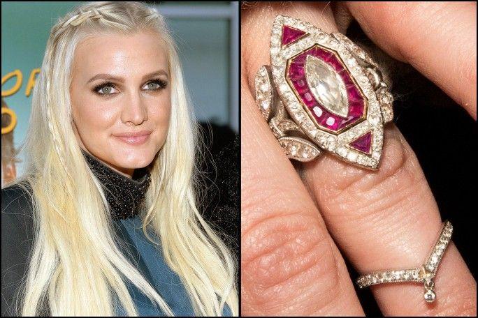 Ashlee Simpson Wedding Ring