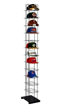 Floor Standing Cap Towers For The Hubby S Many Hats