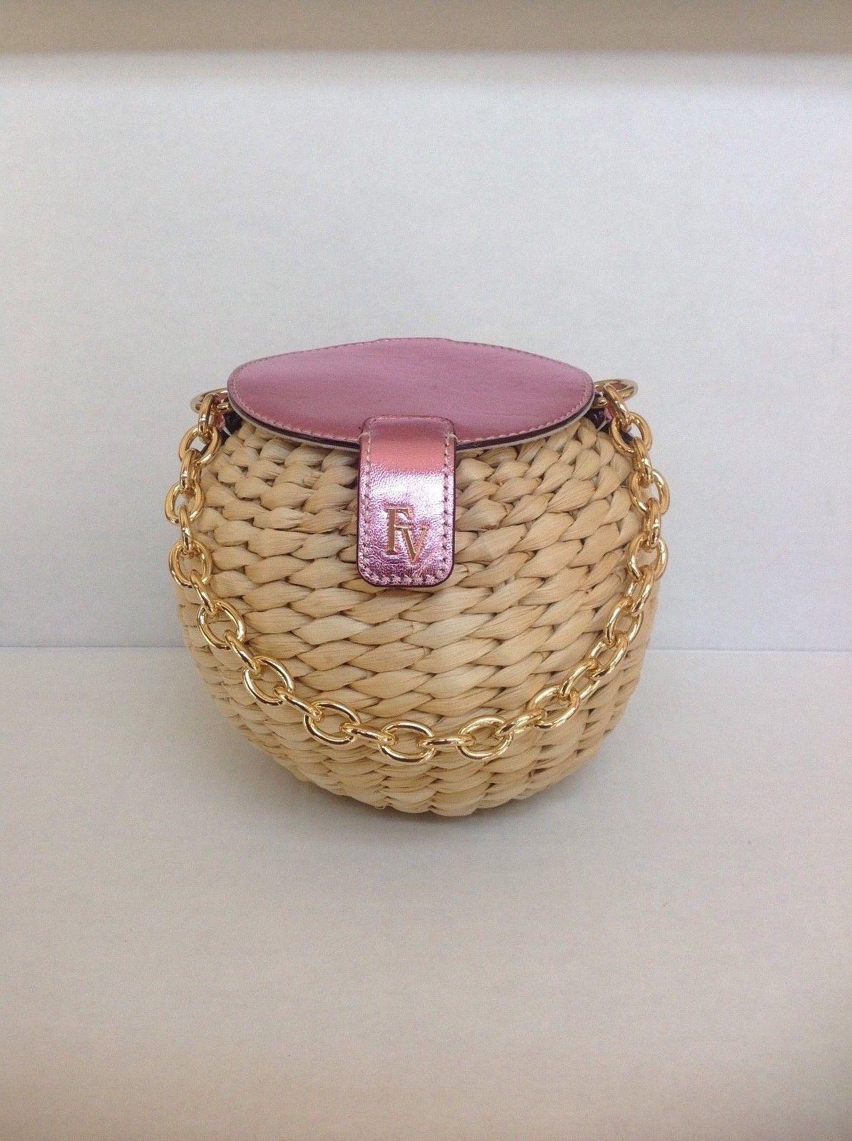 4a48207ed New Frances Valentine honeypot Bucket bag metallic PINK honey pot ...