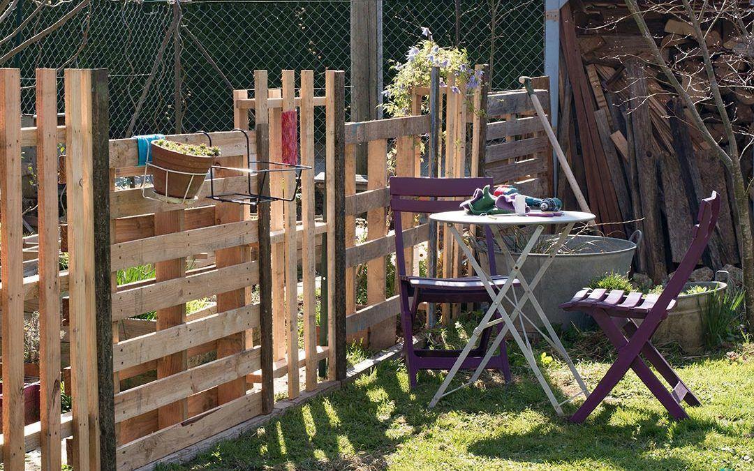Construire Une Cloture En Bois De Palette 20 Exemples Inspirants