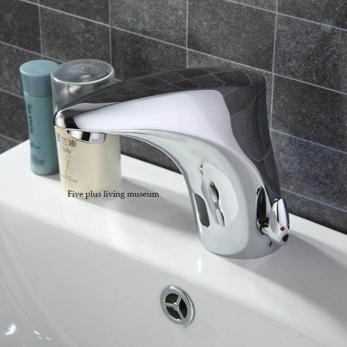 High quality Cold&hot water integration Automatic Hands Touch Free ...