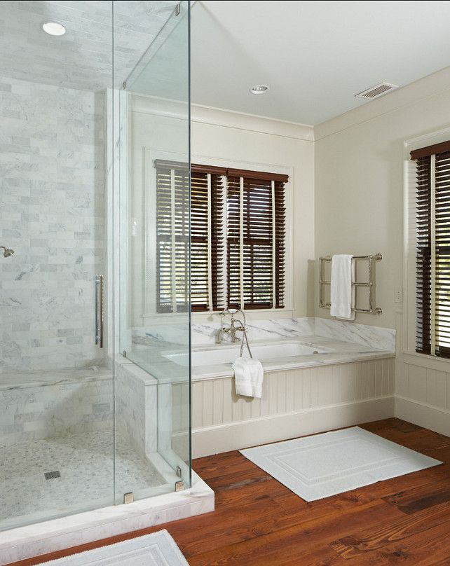 Bathroom Ideas Neutral Bathroom Design Bathroom With Marble Tiling And Hardwood Floors Paint