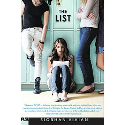 The List (Hardcover) - Siobhan Vivian !!! REALLY WANT!!!!1