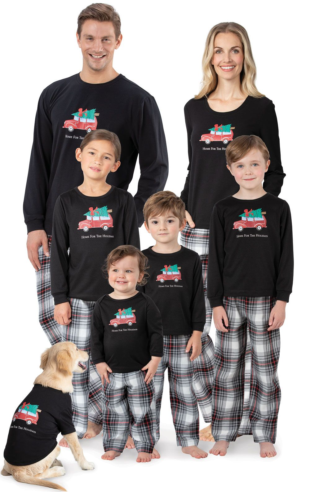 Discover Unique Matching Family Christmas Pajamas (With