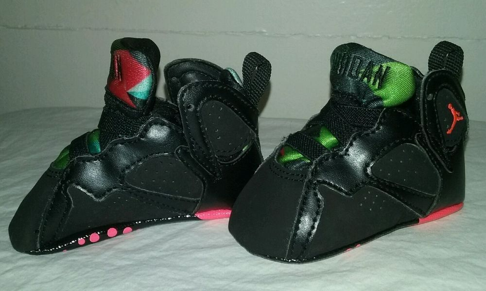 Nike Air Jordan 7 Retro Marvin The Martian Infant Baby Crib Shoes