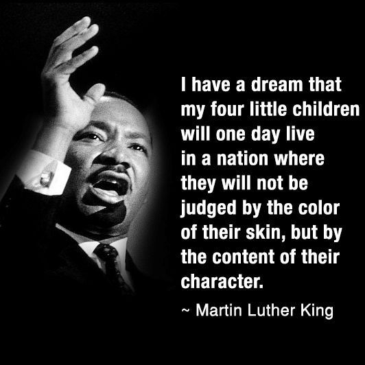 Martin Luther King Jr I Have A Dream Speech Quotes Stunning I Have A Dream Wisdom You Are Who You Are   Pinterest