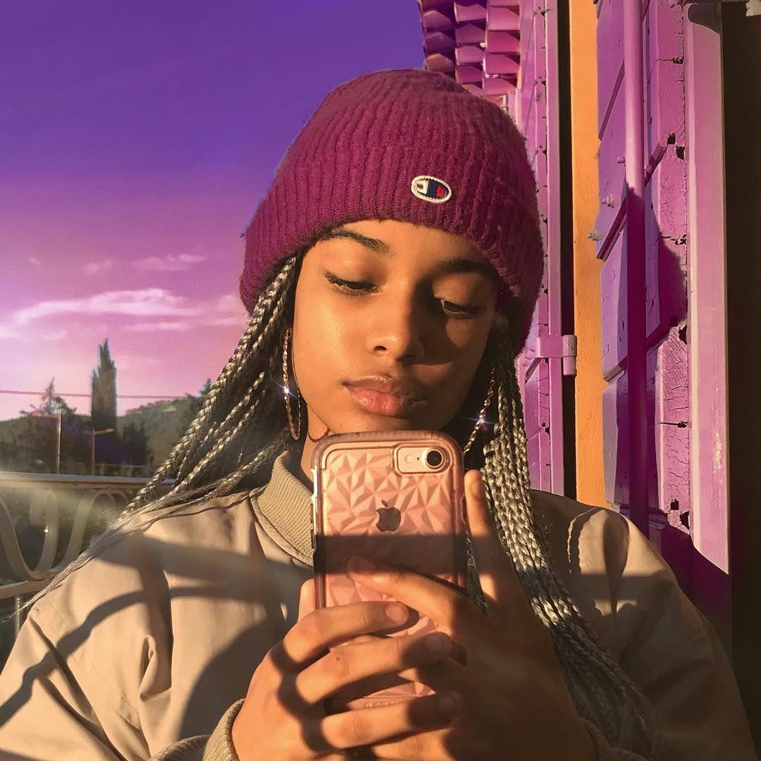 purp always better 💷💷💷💷 | Black girl aesthetic, Pretty ...