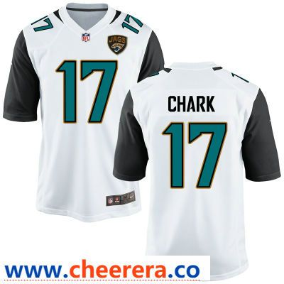 ... top quality mens jacksonville jaguars 17 dj chark white road stitched nfl  nike game jersey 9b409 525edfbb9