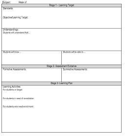 Lesson Plan Template  Success Criteria    Lesson Plan