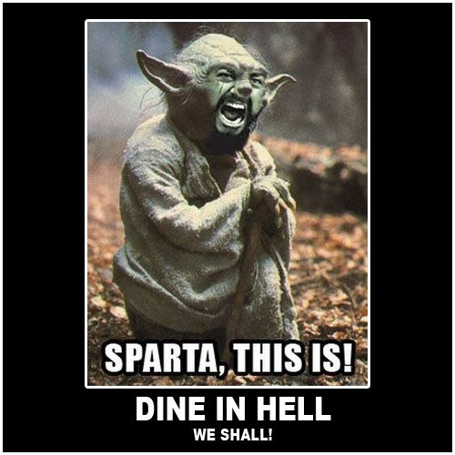 Sparta, this is! Mm, hm hm.