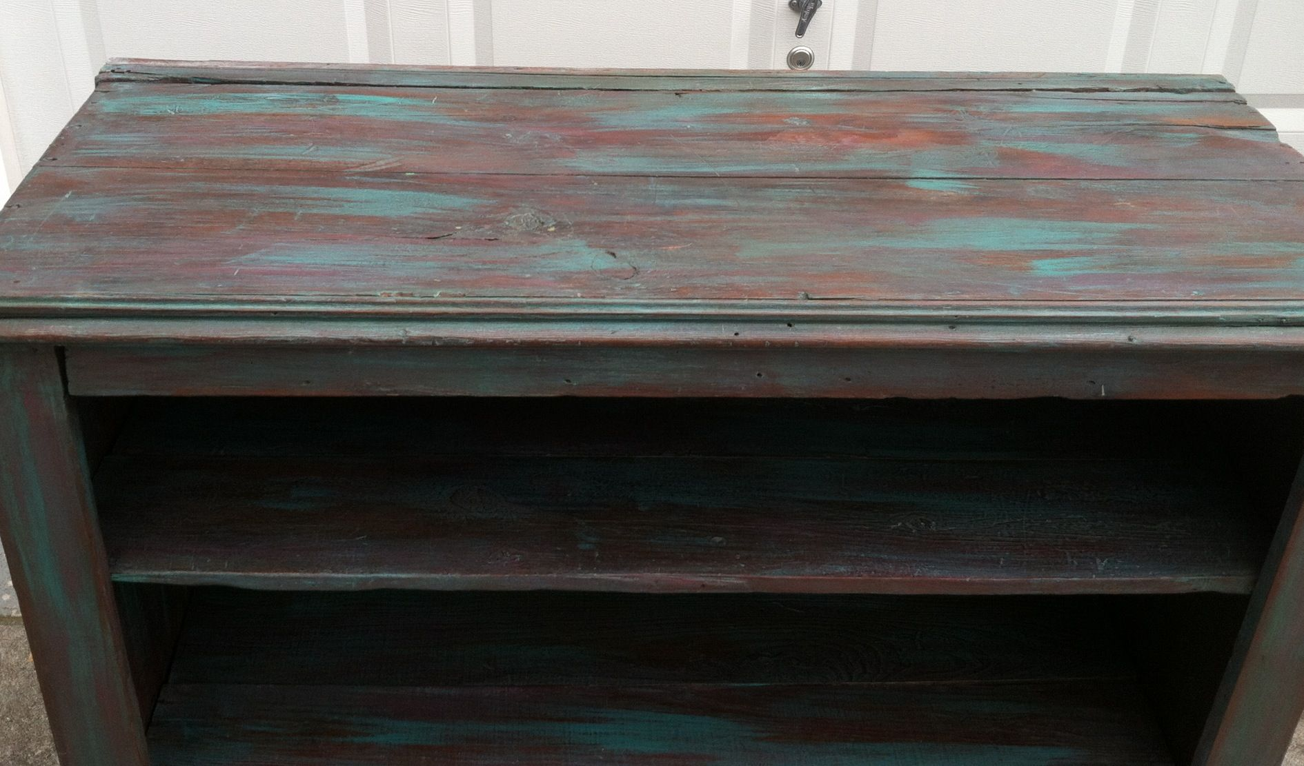 Florence, Emperor's silk, ASCP, chalk paint, primitive