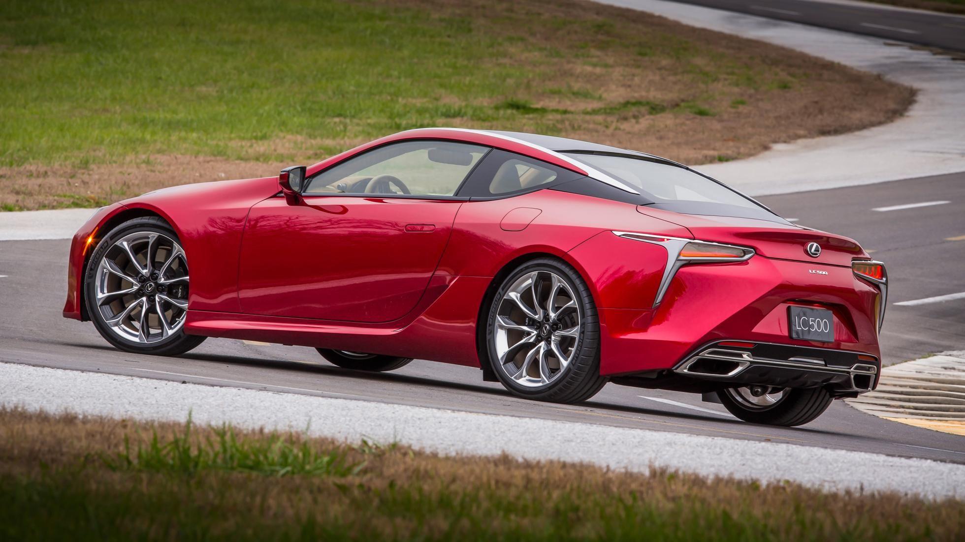 Lexus reveals the 467bhp LC 500, and it is good Lexus lc