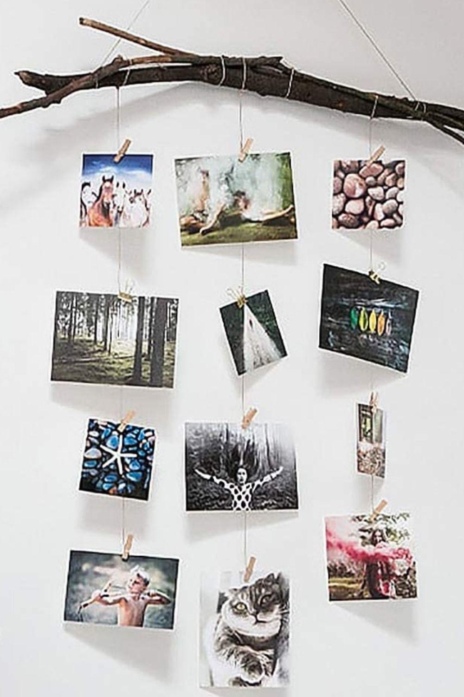 Fotoseil Kreative Diy Wanddekoration Spurlos Ohne Nägel Diy Wandgestaltung Diy Wanddekorationen Fotos Aufhängen