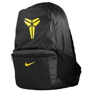 Nike Kobe Baller Backpack - Basketball - Accessories - Black/Black/Varsity Maize