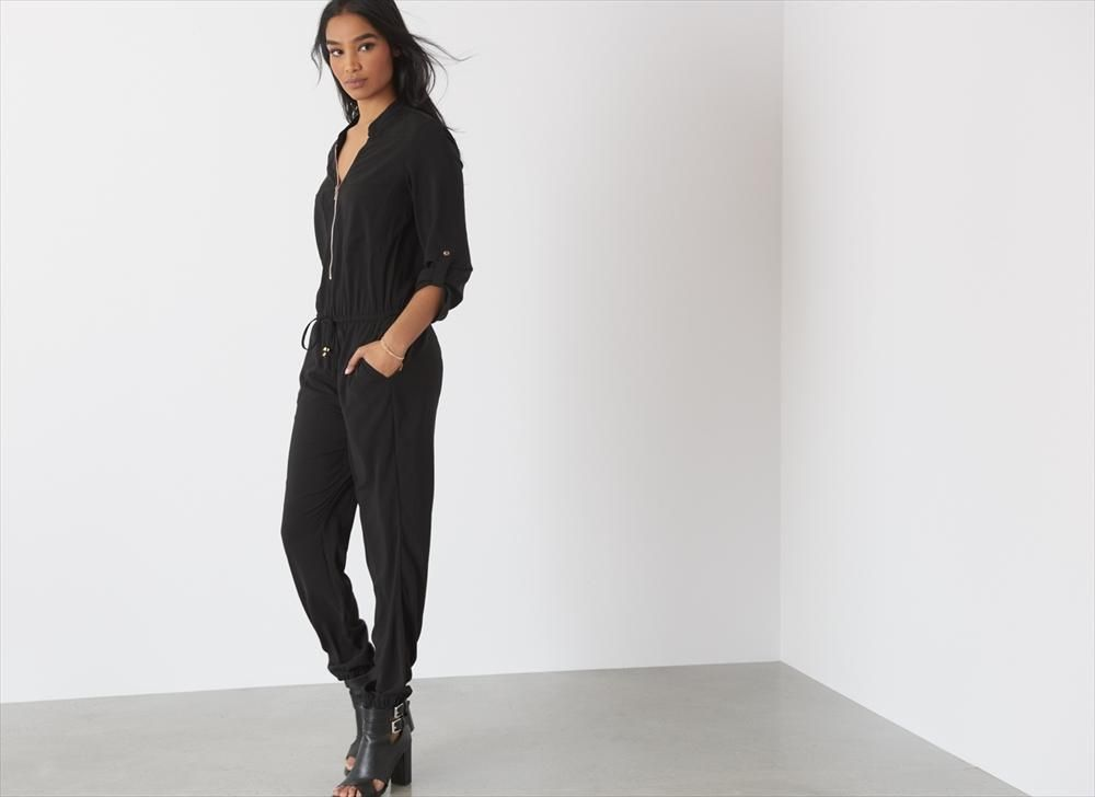 Up your style game this season in this jumpsuit.