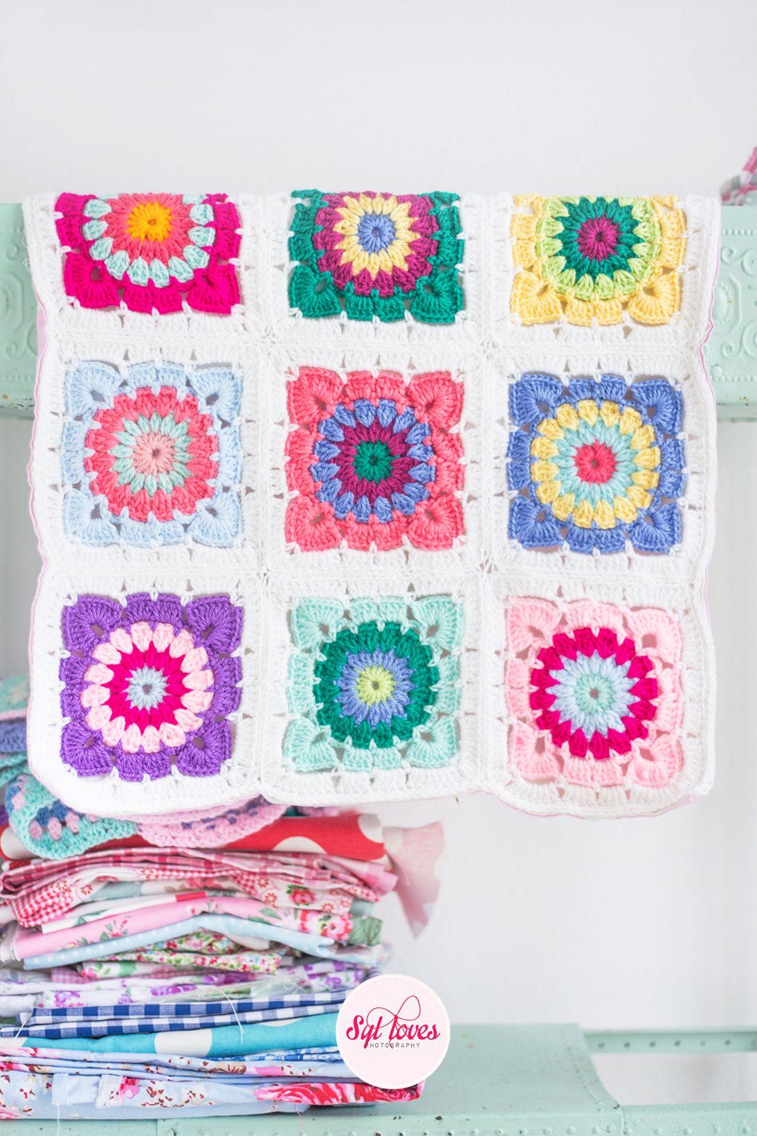 Syl loves, happy handmade | Crochet Blanket Inspiration | Pinterest ...
