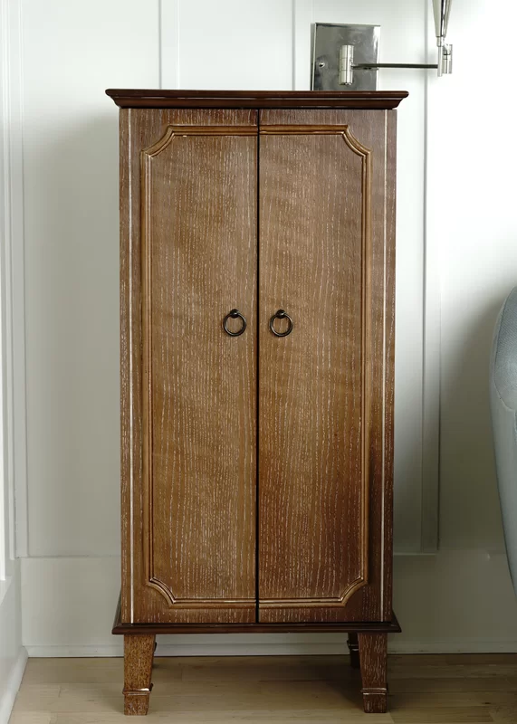 Beachcrest Home Enloe Free Standing Jewelry Armoire With Mirror In 2020 Wall Mounted Jewelry Armoire Jewelry Armoire Mirror Jewelry Armoire