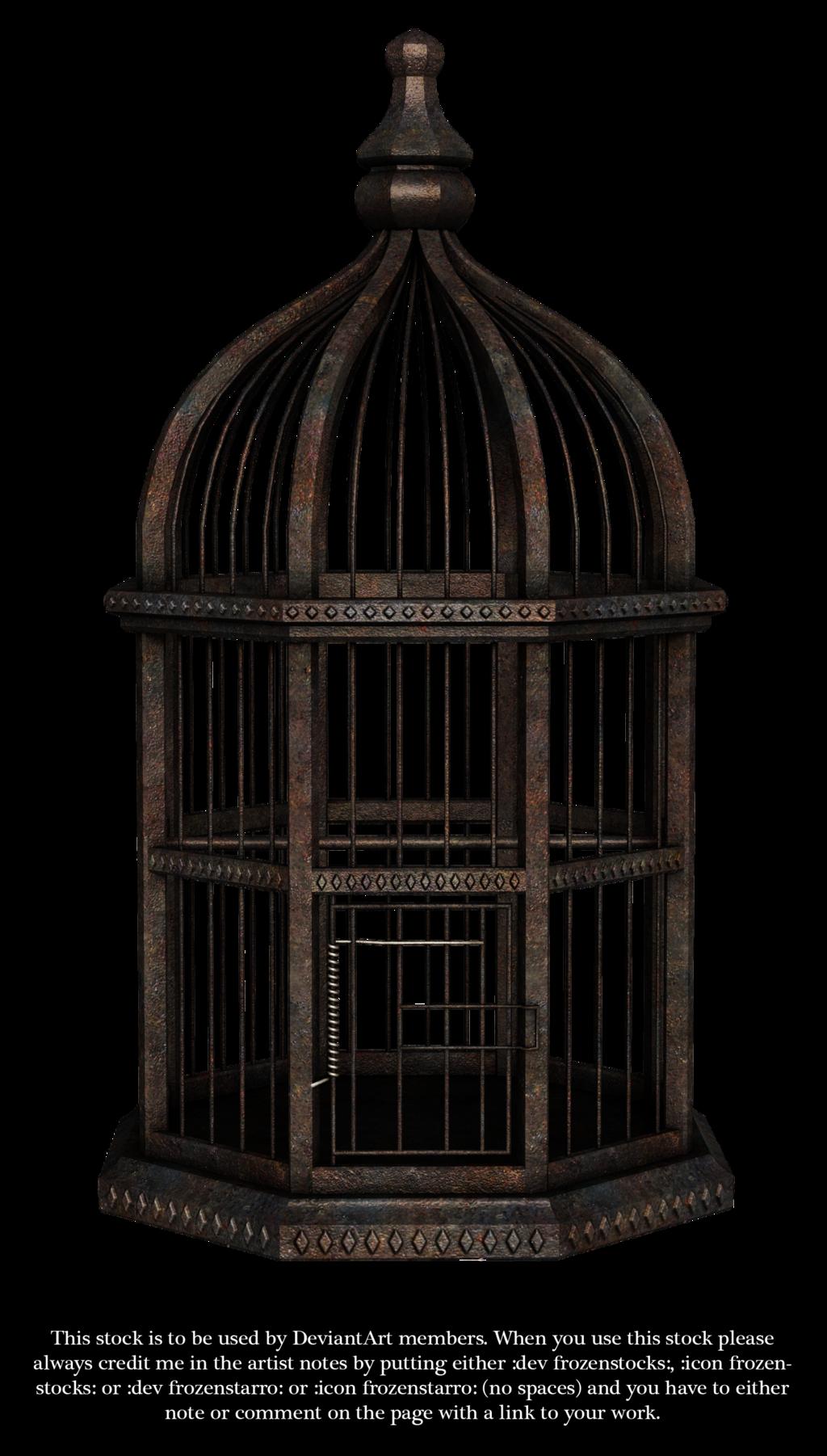 Rusty Birdcage Render By Frozenstocks On Deviantart Bird Cage Pendant Light Light