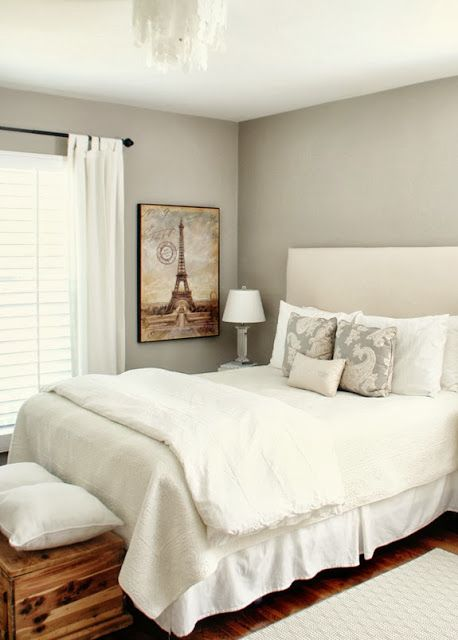 Worldly Gray ~ Sherwin Williams | Paint by Numbers | Grey bedroom ...