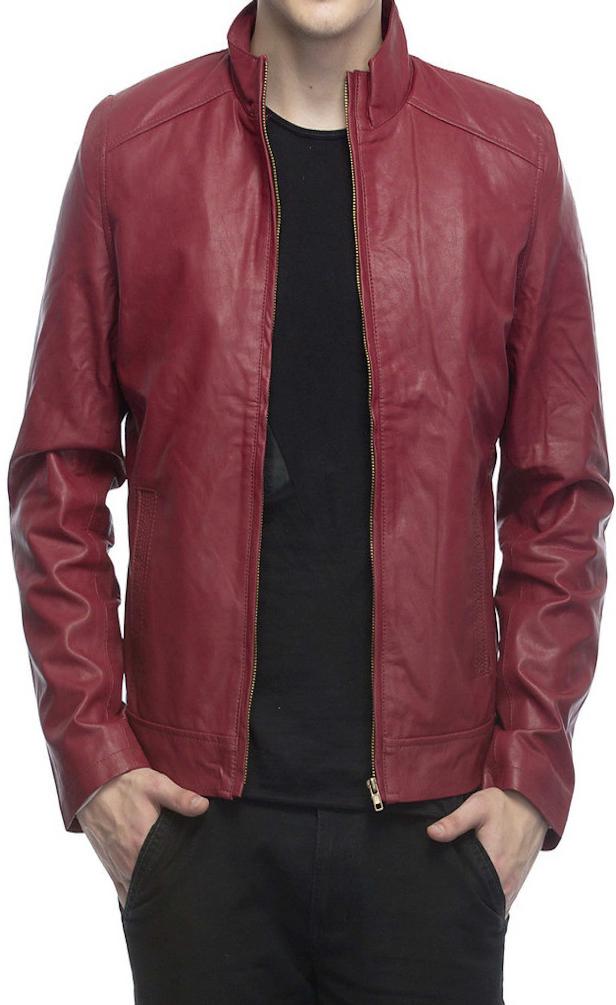 115769dc9 Solid men's jacket | Products | Jackets, Bomber jacket, Leather