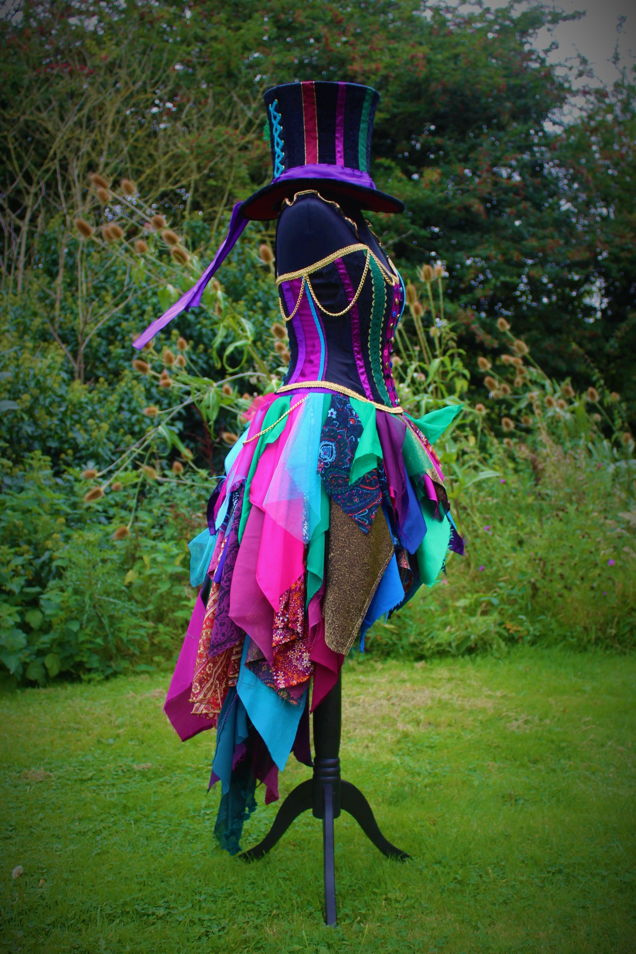 Full Mad Hatter Costume Custom Made Fancy Dress By Faerie In The