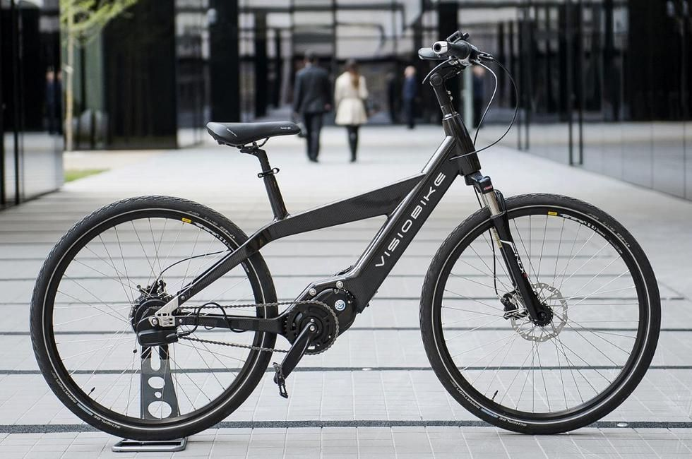 Visiobike high tech electric bicycle