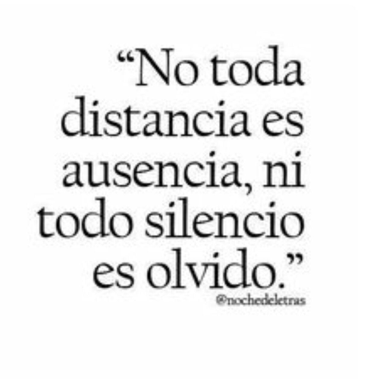 A veces la distancia es necesaria sin embargo eso no significa que las cosas cambien de la noche a la ma±ana y se olvide