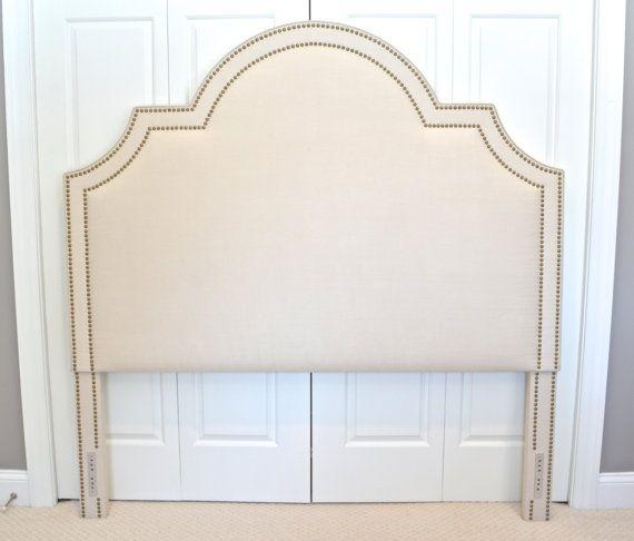 upholstered headboard king queen full twin size by - Upholstered Headboard King