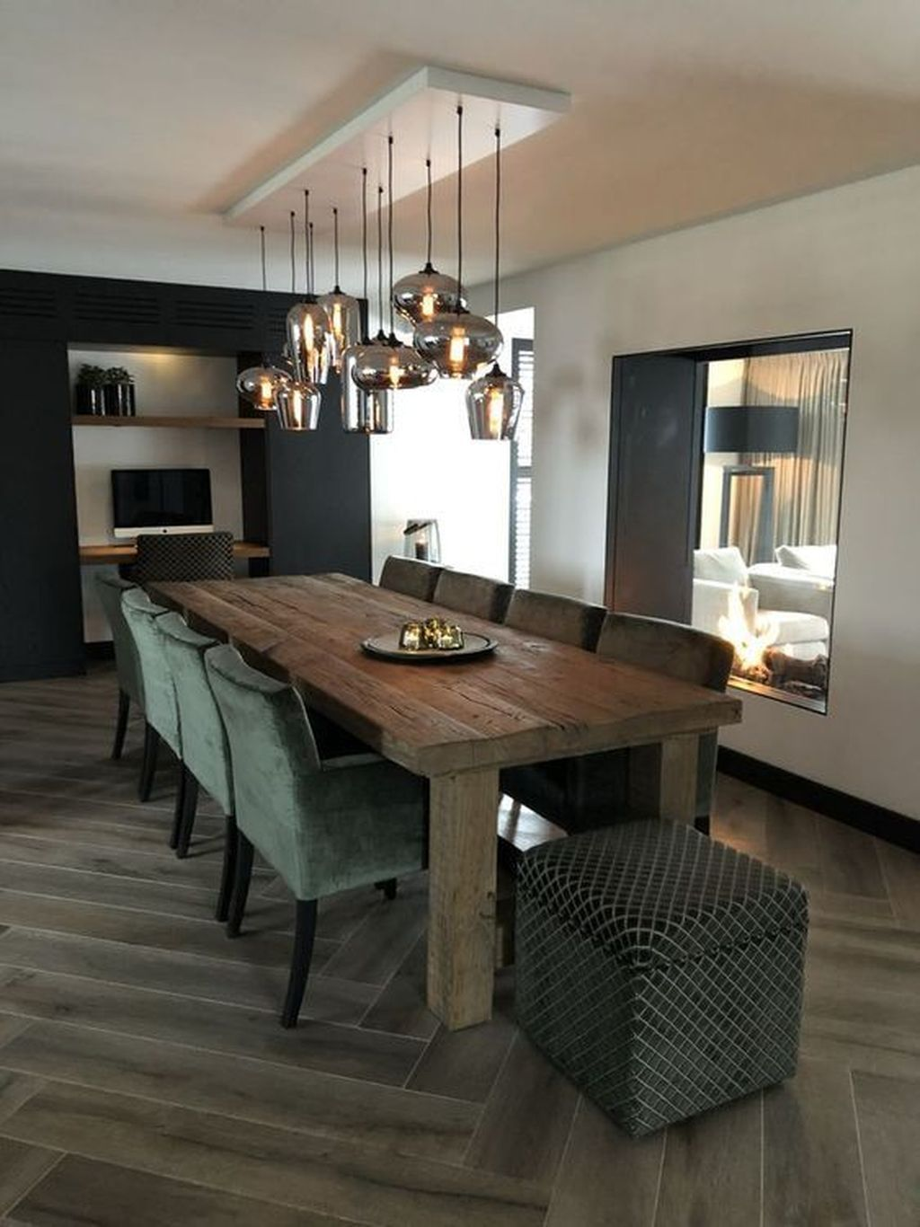 32 Fabulous Contemporary Dining Room Decorating Ideas In 2020
