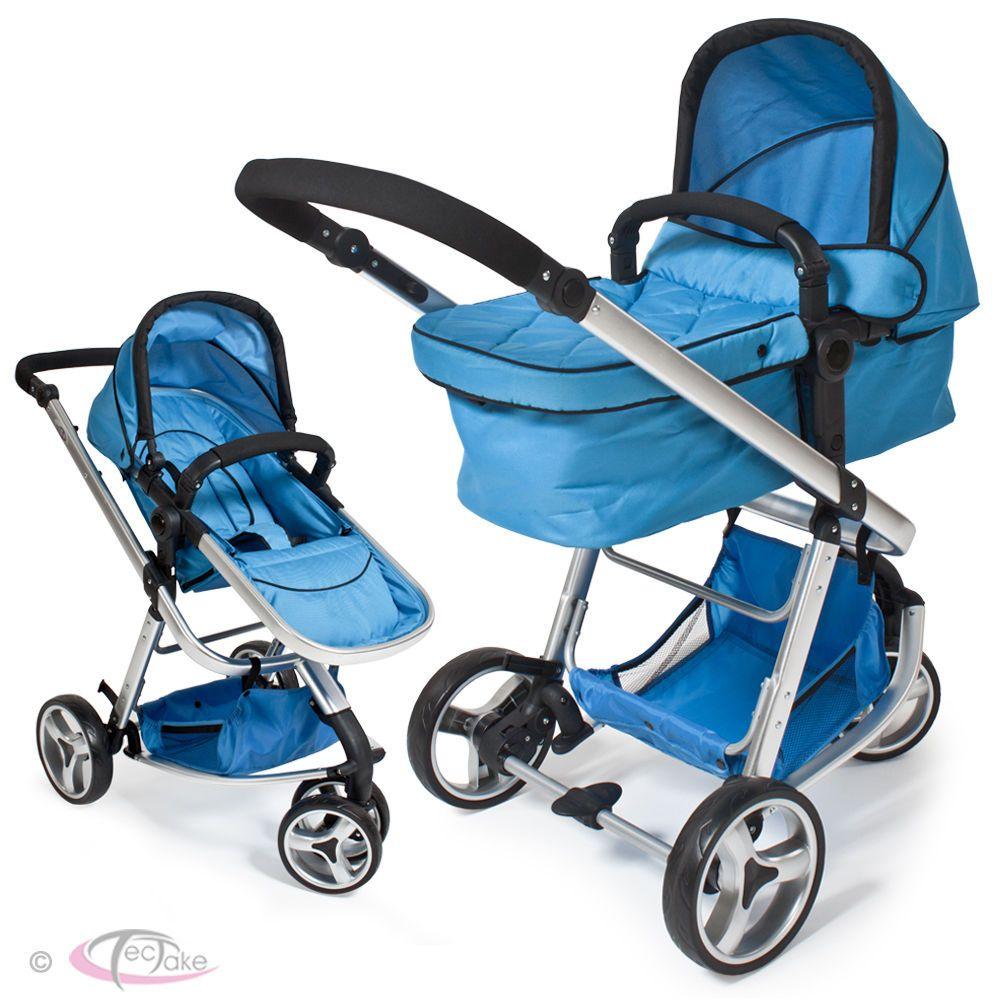 Kids Pram Travel System 3 in 1 Combi Stroller Buggy Baby Child Pushchair