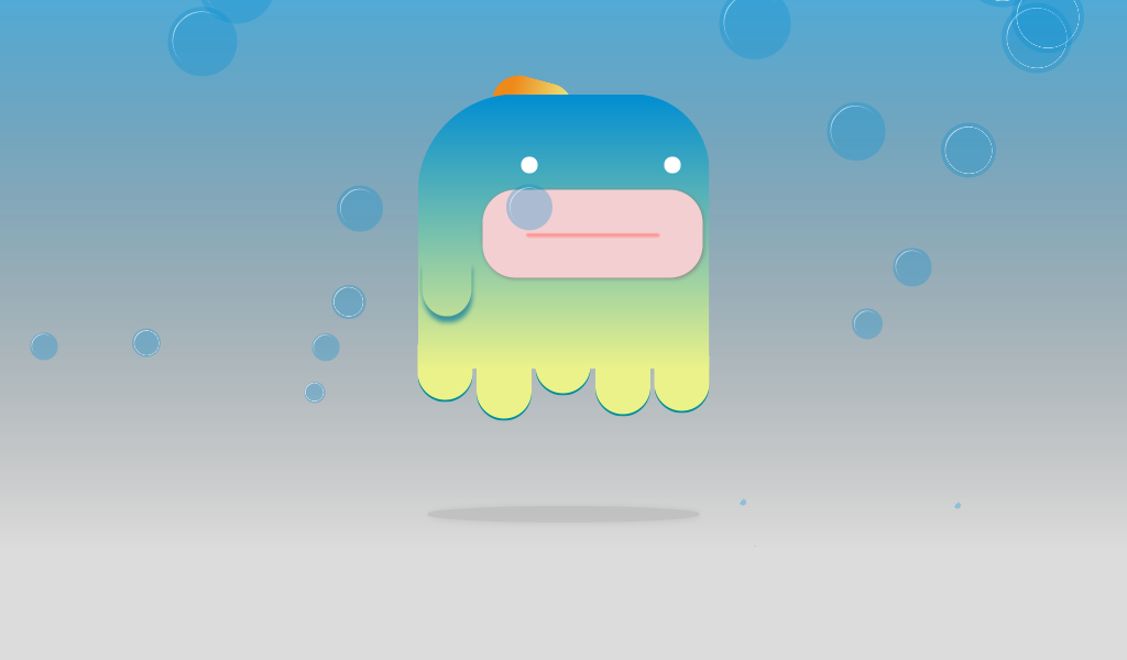 Mr JeellyFish pure CSS animation by FabioG on CodePen | CSS