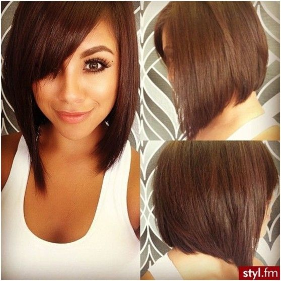 Miraculous 1000 Images About Hair On Pinterest Medium Angled Bobs One Hairstyle Inspiration Daily Dogsangcom