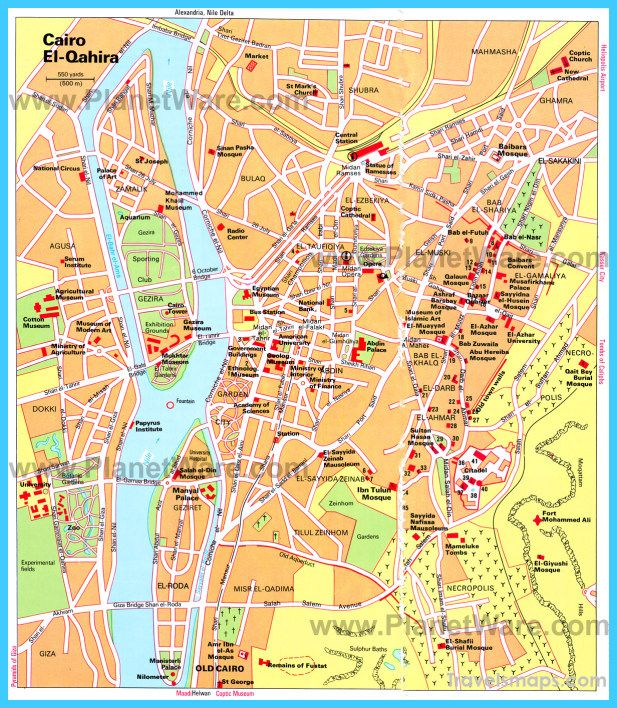 awesome Map of Cairo | Travelsmaps | Pinterest | Cairo, Egypt travel ...