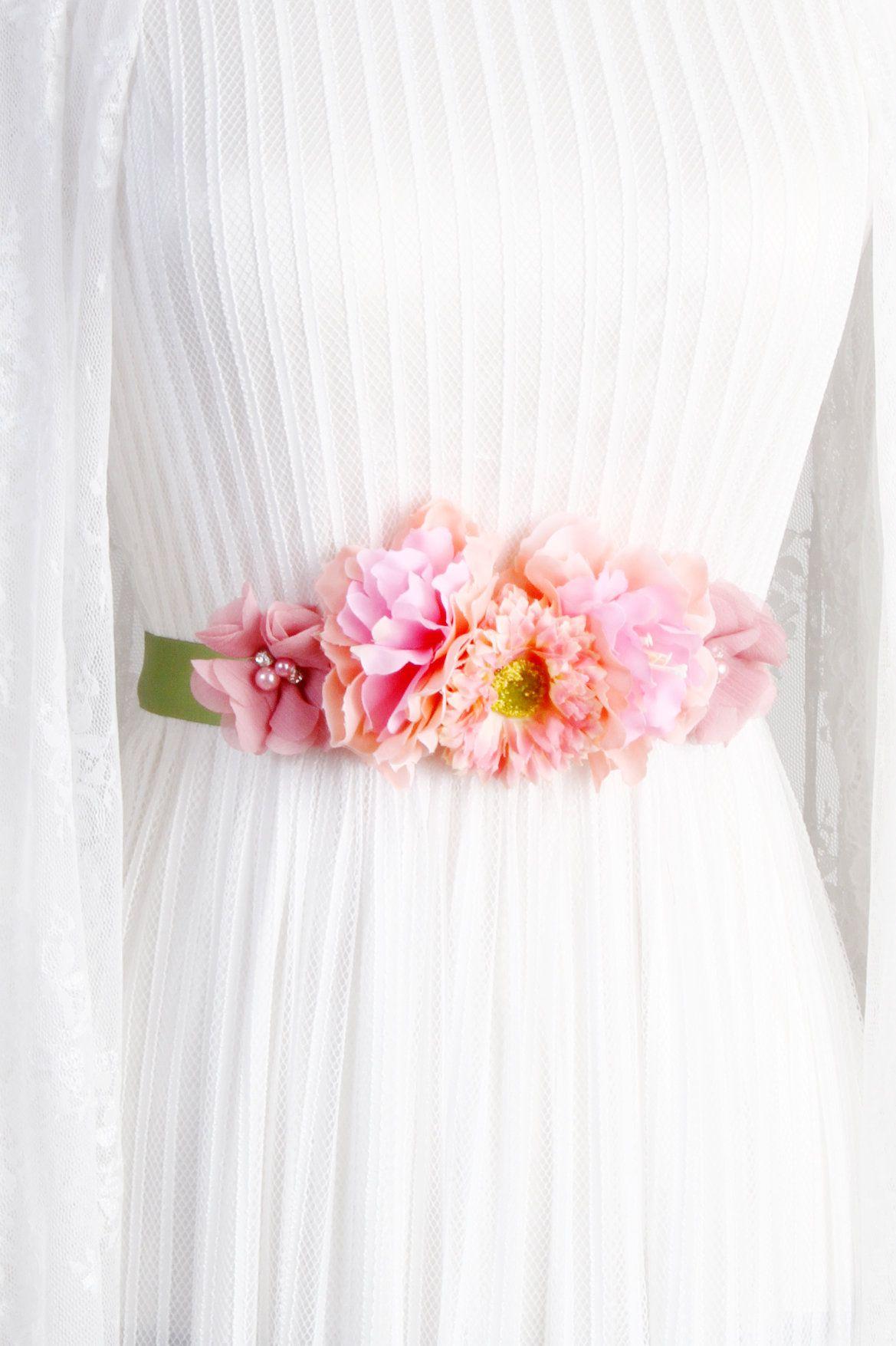 Bridal Ribbon Sash Belt Wedding Dress Sashes Belts