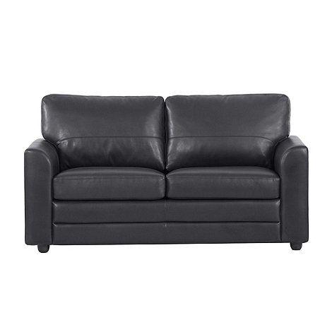 Wondrous Debenhams Black Lola Bonded Leather Sofa Bed At Debenhams Andrewgaddart Wooden Chair Designs For Living Room Andrewgaddartcom
