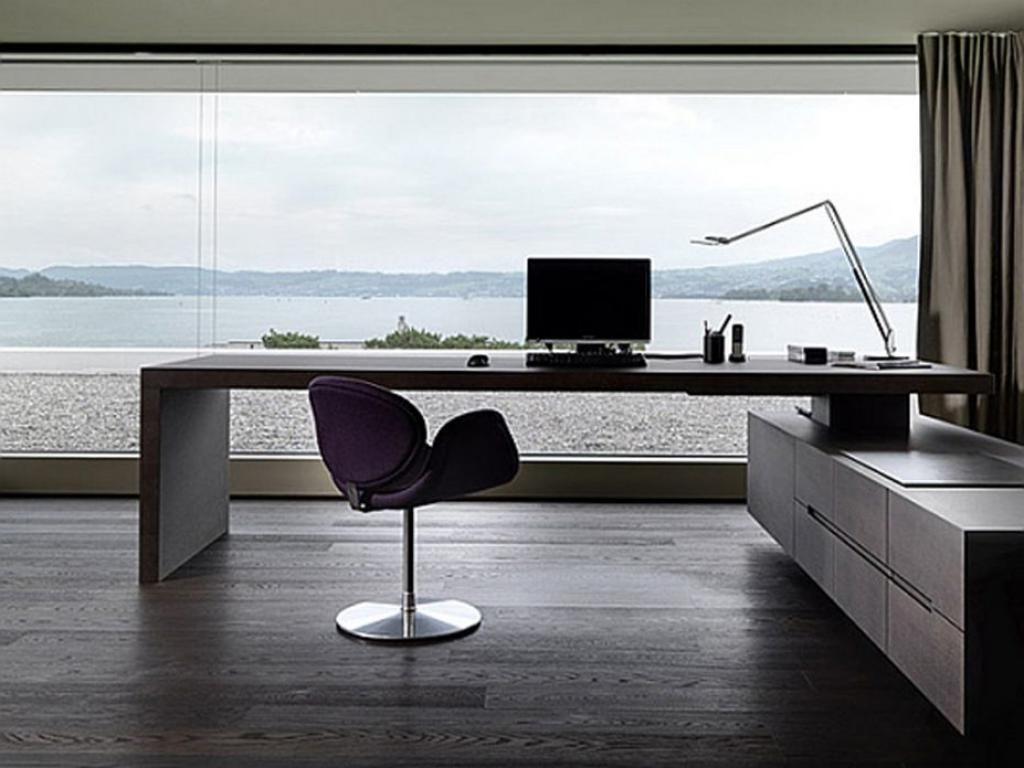 Great Desk Modern Home Office Furniture Contemporary Home