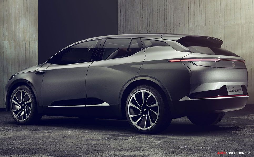 Chinese startup byton reveals allelectric concept suv